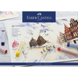 faber castell soft pastels 36 pack