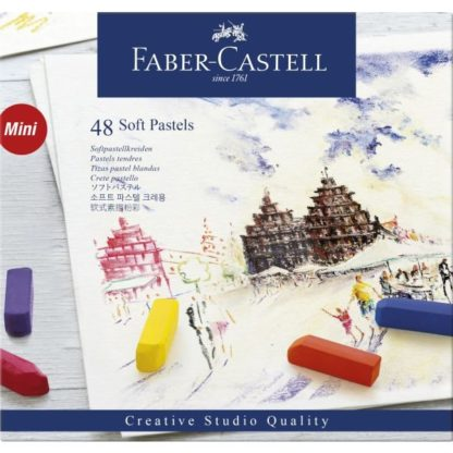faber castell soft pastels pack of 48 mini