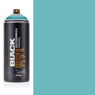 montana black,spray paint light blue