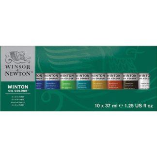 winsor and newton winton oil paint set