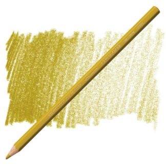 supracolour caran d'ache gold ochre watersoluable pencil