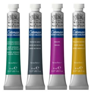 Cotman Watercolour Tubes 8ml