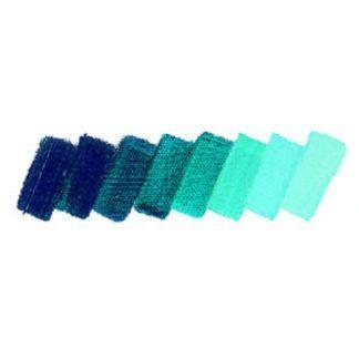 translucent turquoise schmincke mussini oil paint