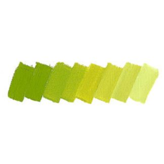 yellowish green schmincke mussini oil paint